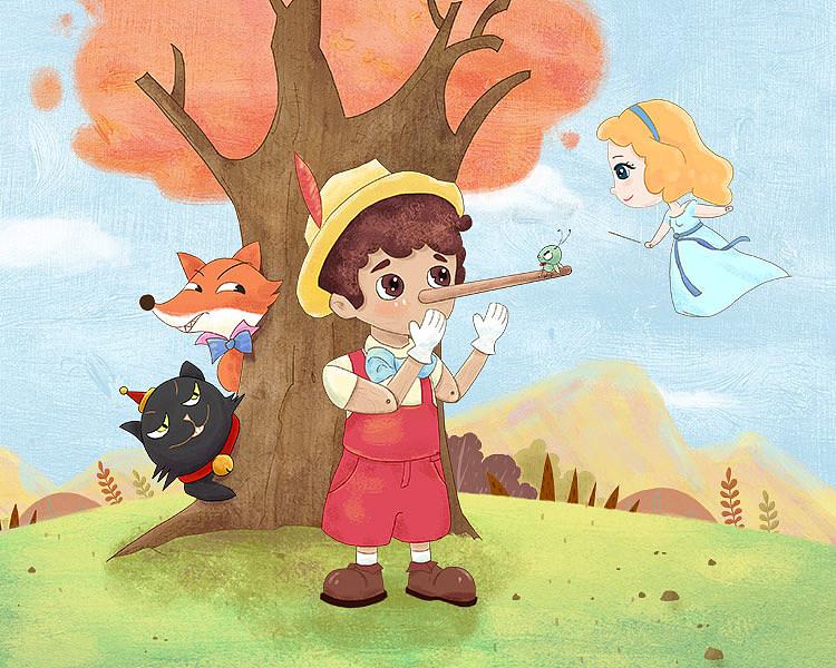《木偶奇遇記》童話故事