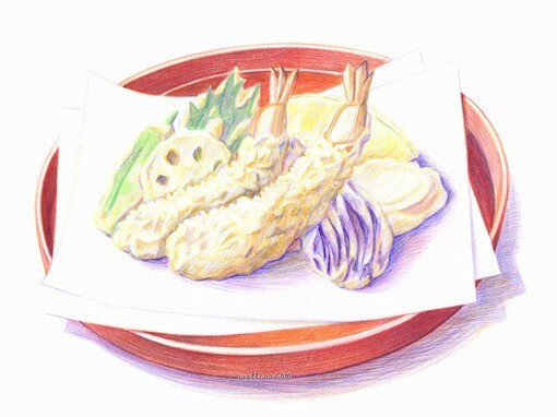 蜜约美术花艺—彩色铅笔 彩铅 纯艺术 柳斌 - 原创