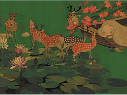 一只鹿,两只鹿,三只鹿,四五六七八九只鹿