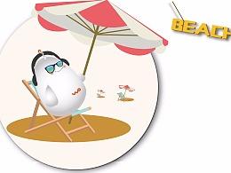 中国联通沃品牌卡通形象————沃克