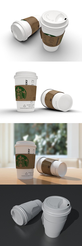 查看《星巴克咖啡纸杯》原图,原图尺寸:1200x3603