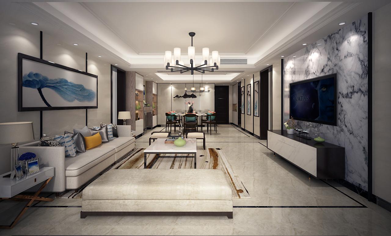 新中式风格-家居|空间|室内设计|bueli - 原创作品