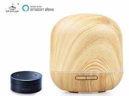 亚马逊智能音箱控制加湿器香薰机