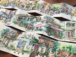 总结2019下半年在广州画的速写