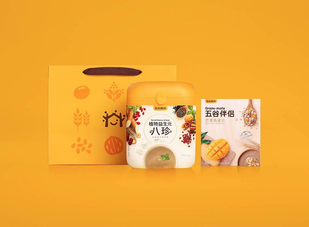 五谷磨坊 平面 包装 成功设计平台 - 原创作品 - 站酷图片