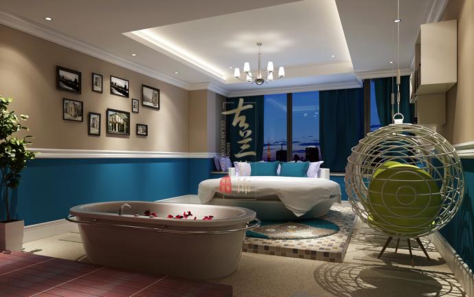 绿狐酒店——德阳酒店设计 德阳酒店装修 室内设计