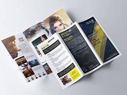 公司三折页设计