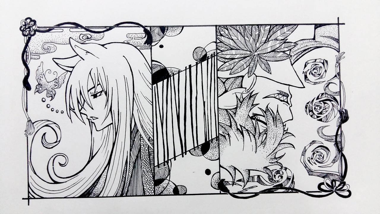 最近手绘|动漫|其他动漫|dy木木安 - 原创作品 - 站酷