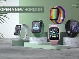 【Z17智能手表】产品视觉动画——巨人谷制作