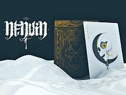 《南努因》 克苏鲁风格扑克牌设计