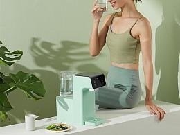 饮水机摄影-每天都喝新鲜水 I BluePro X当下视觉