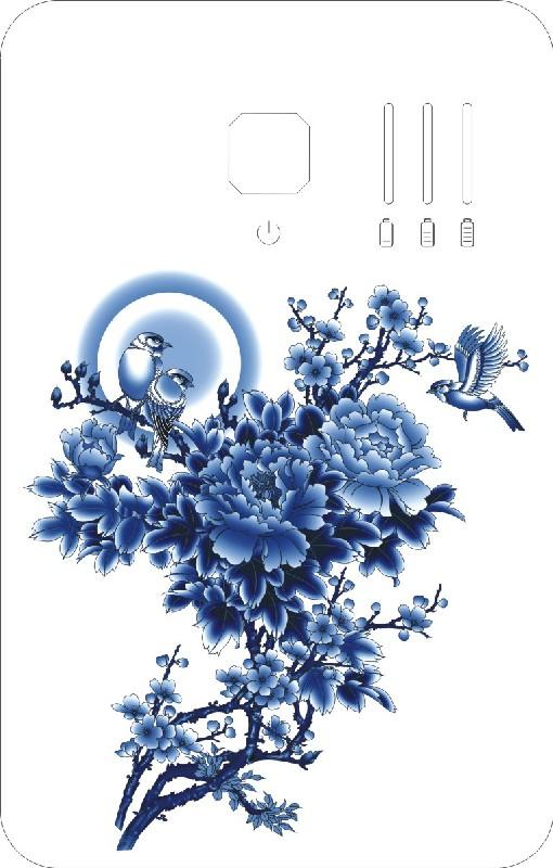 移动电源中国元素图案设计
