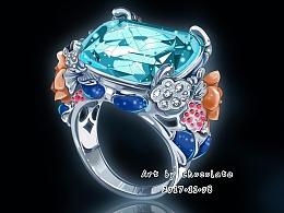 【珠宝首饰绘画步骤图】