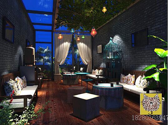 成都特色花园餐厅设计公司 成都专业花园餐厅设计 成都餐厅装修公司