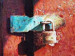 圆珠笔-门锁