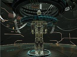 C4D教程——大型科幻场景制作(二)