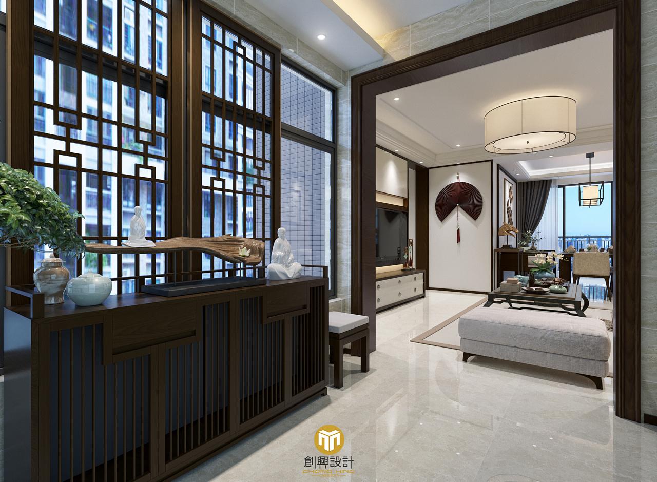 中式影��k�_新中式|空间|室内设计|乌影 - 原创作品 - 站酷
