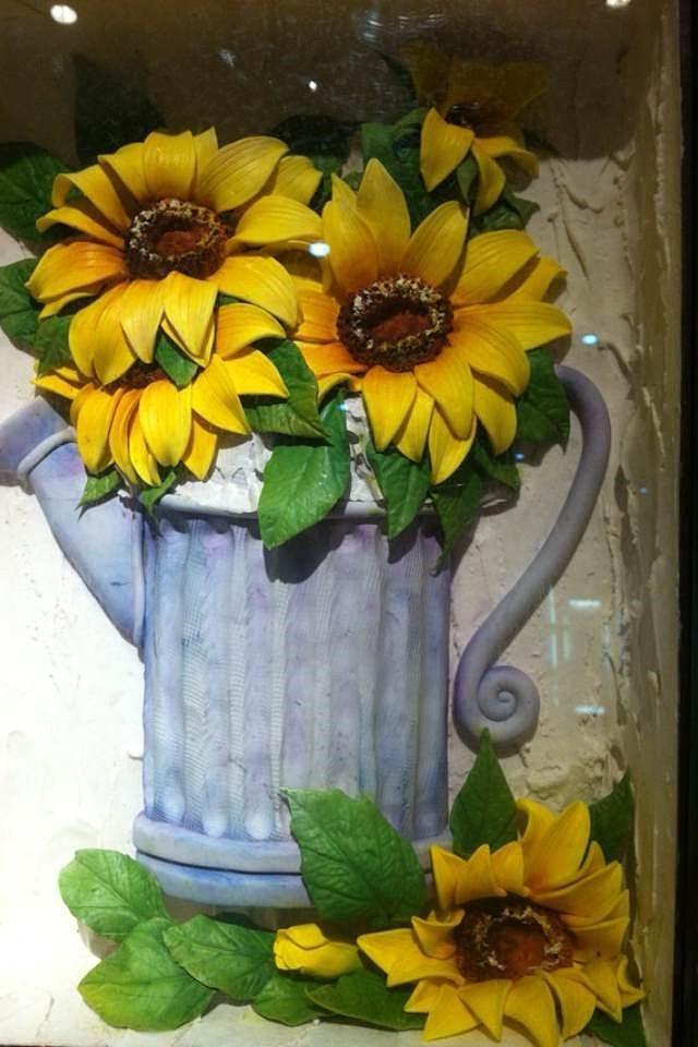 粘土花卉图片