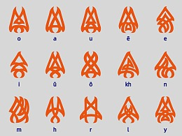 AstulJurondo居容台拓扑学字母体系
