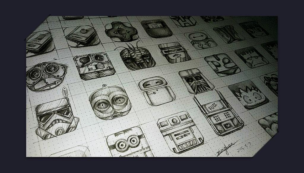 一些系列手绘小图标|ui|图标|zhegn1985 - 原创作品
