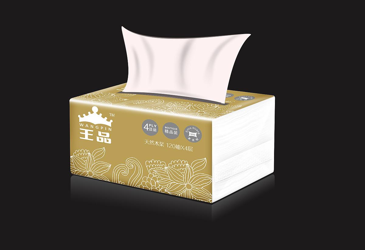 纸巾包装设计图片