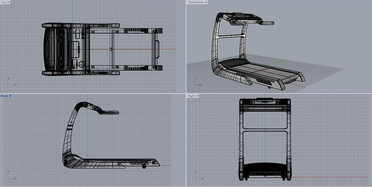 【产品外观设计】跑步机2|工业/产品|其他工业/产品