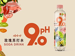 WAHAHA-pH9.0苏打水饮品 包装设计
