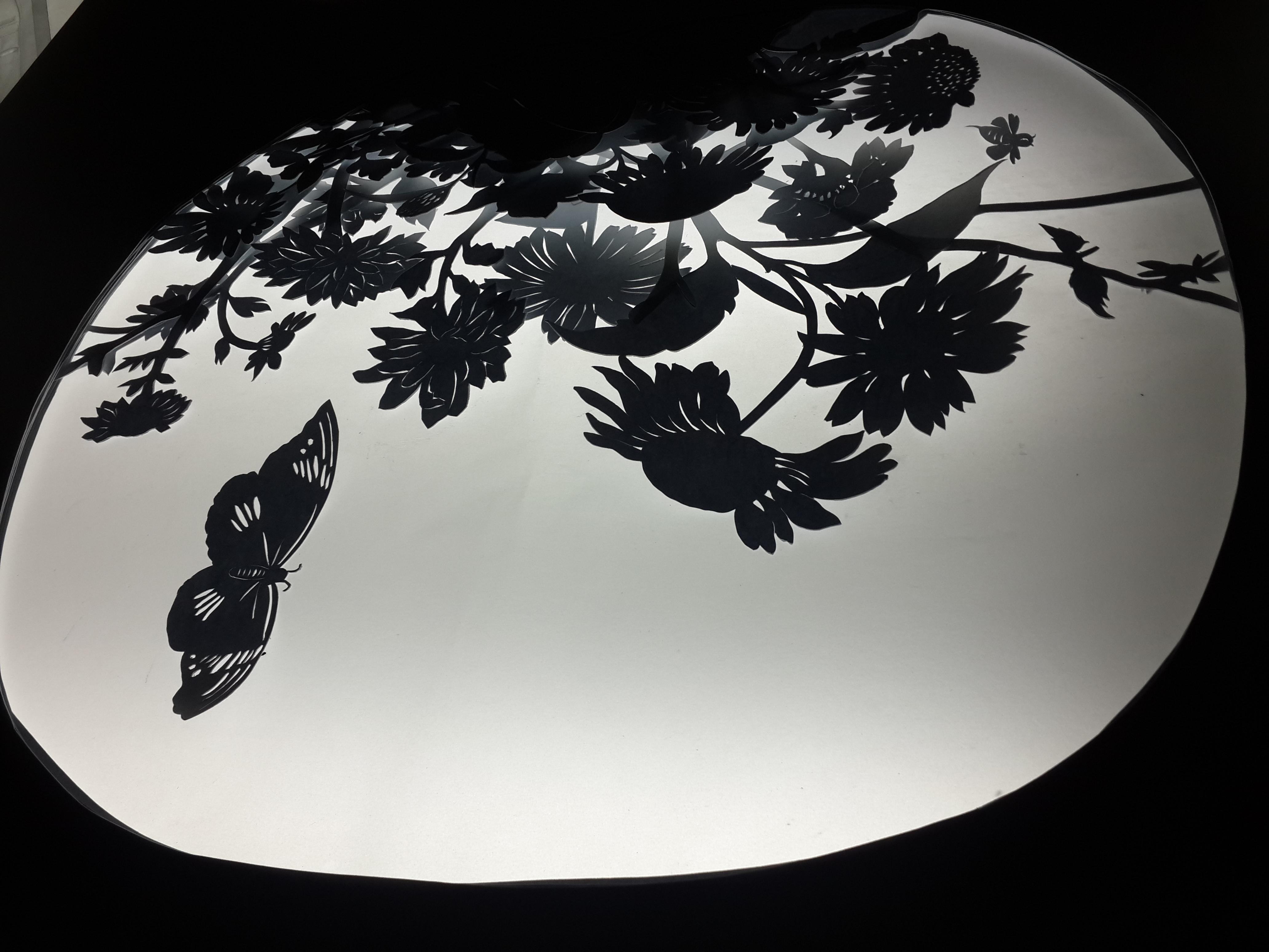 平面镂空纸雕教程图解