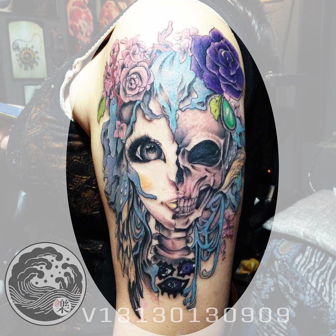女生纹身图案图片