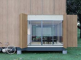 无负担绿能小木屋-简约模组小宅