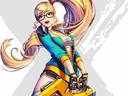 旗灵-腾讯《全职大师》2016年游戏网页设计