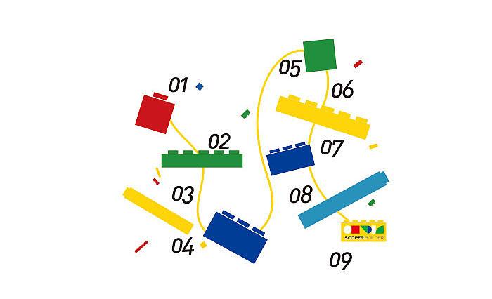 棒棒贝贝 幼儿培训教育机构 VI形象设计图片