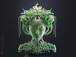 THE MILL 2017 雕刻比赛:百花王