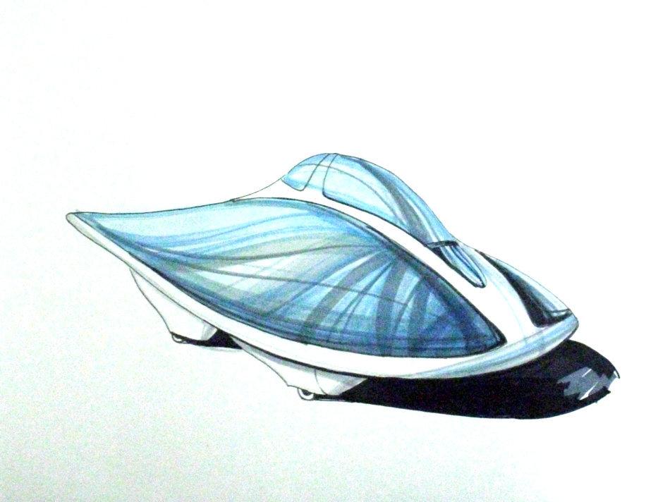 拖鞋手绘设计图