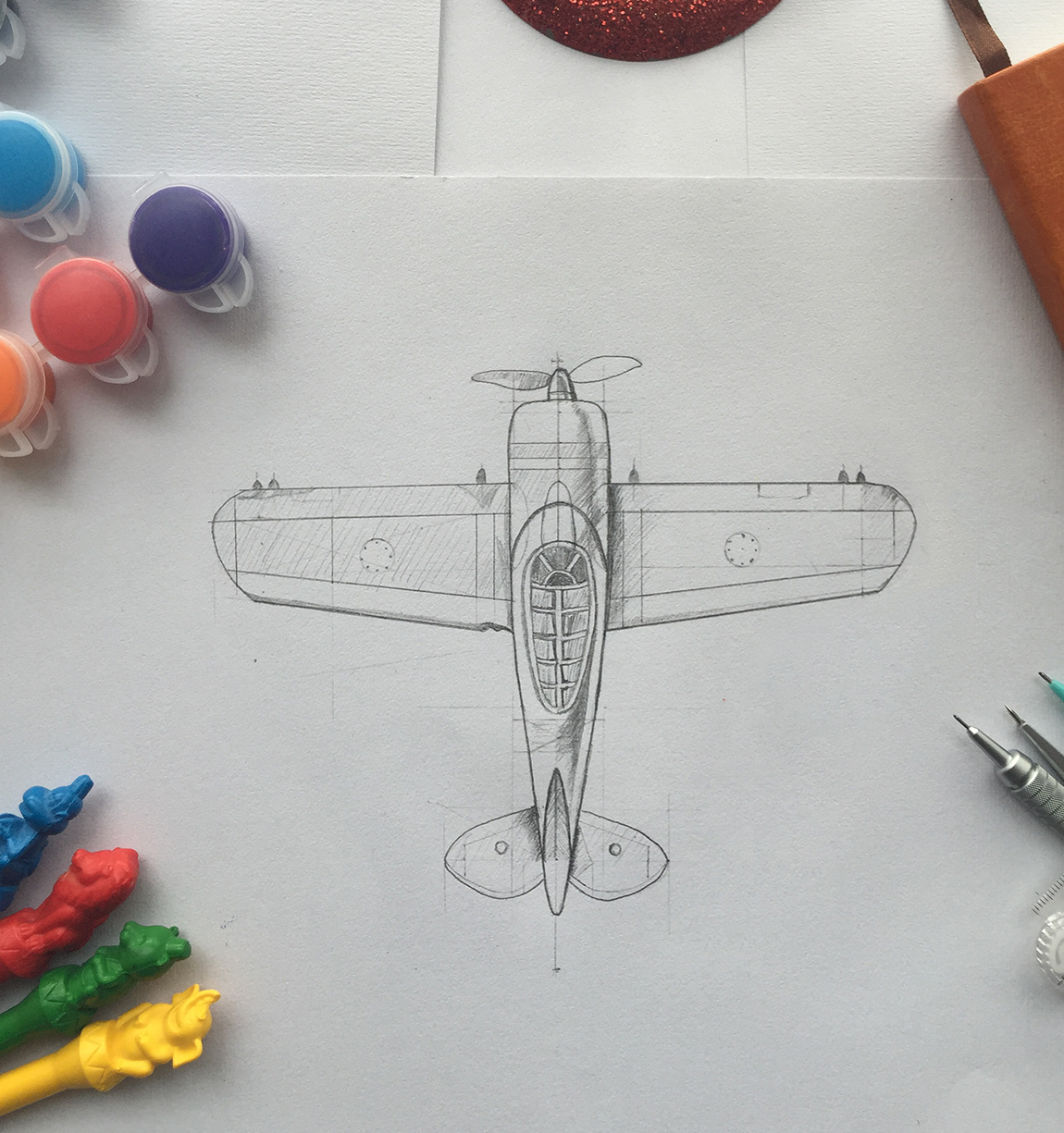 手绘临摹mike大师作品|插画|插画习作|c了个t - 原创
