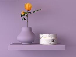 妩媚|粉嫩|嫣紫风 化妆品包设形象设计