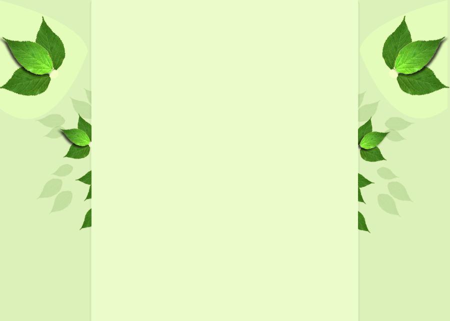 绿色树叶背景 适合做展板背景图片