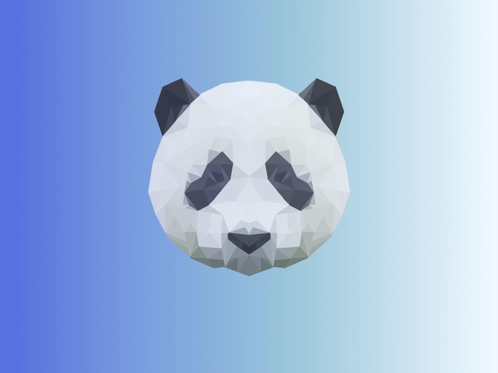 轻泥手工制作熊猫
