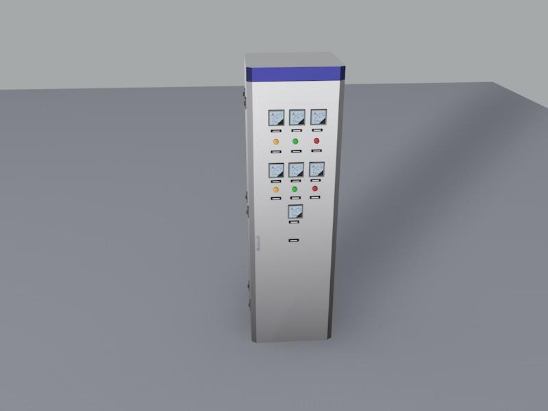 电柜空调接线图片