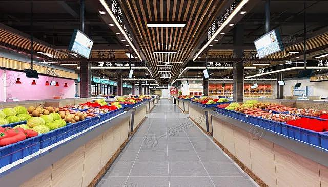 上海蒙山路农贸市场设计案例图片