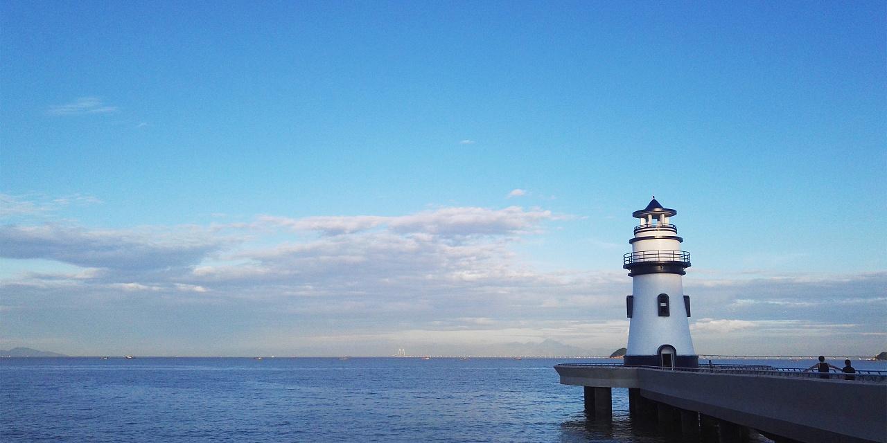 海-珠海的海 摄影 风光 浅蓝廿瑾 - 原创作品 - 站酷