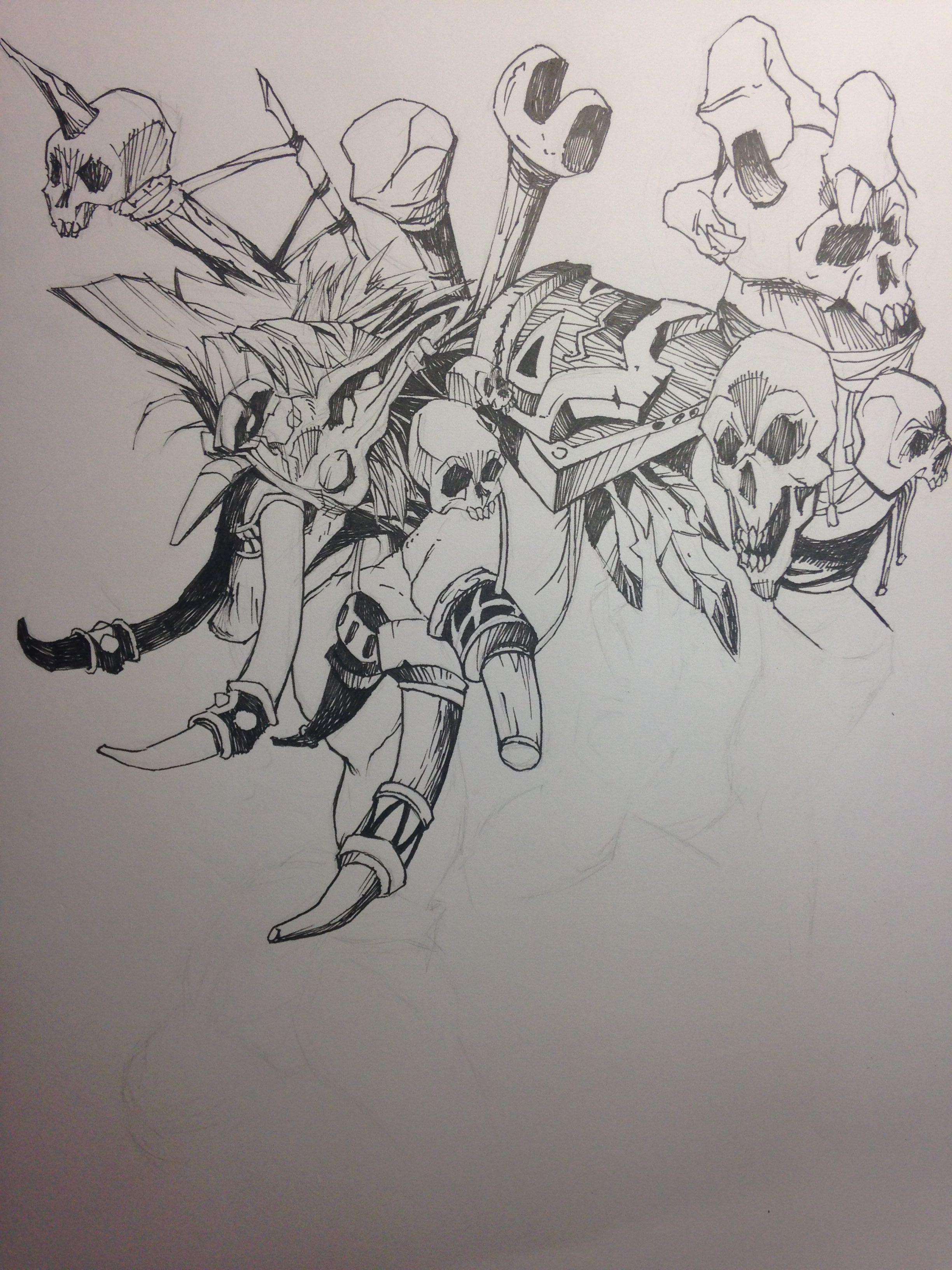 手绘 板绘插画