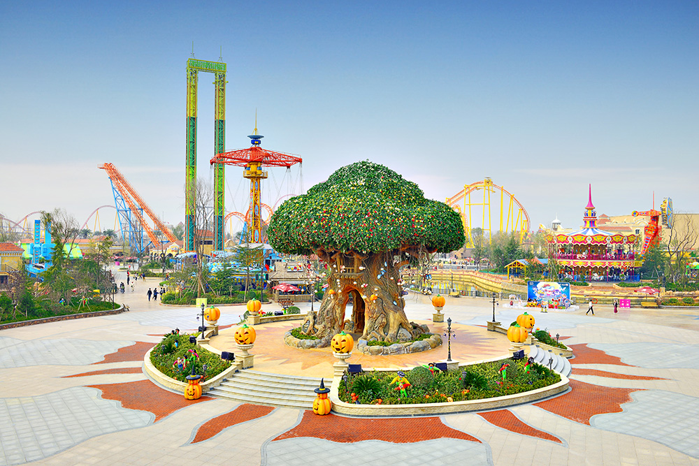 西安乐华欢乐世界 主题公园设计方案