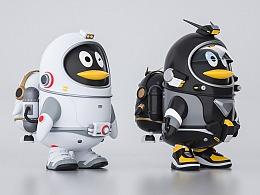 QQ太空鹅建模-带完整教程