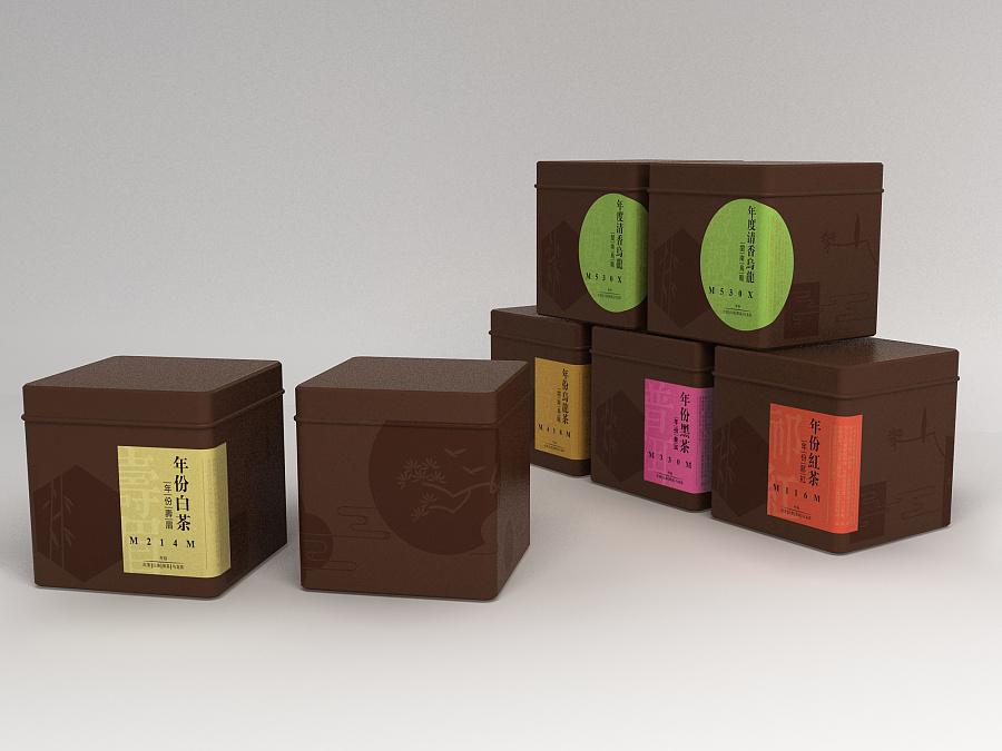 茶叶包装 礼品包装 包装设计 高端包装图片
