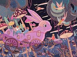 Yixin Illustration Collection 亦心插画合集