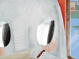 咪咪画报短篇童话《害羞的小象悠悠》