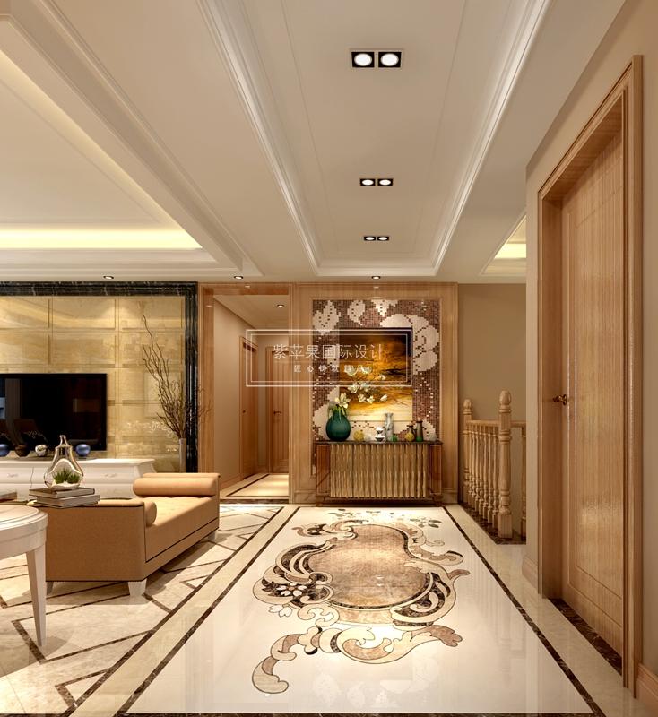 花城270平米别墅装修设计平面|室内设计|案例广告设计v别墅及作用图片