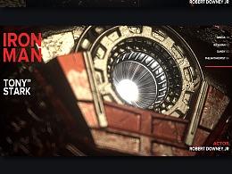C4D 钢铁侠写实场景渲染