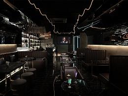 杭州Black Bar酒吧室内空间拍摄